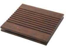 Anti Moth Bamboo Flooring Tiles Charcoal Surface Treatment Wood Appearance